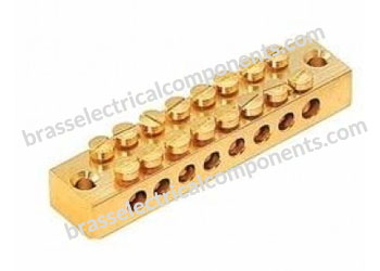 Brass Neutral Links 8 way