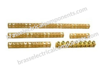 Brass Neutral Links EN 50222 DIN Rail