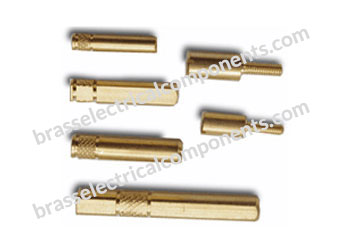 Brass Electrical Pin Terminals