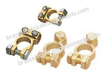 Machine Made Brass Battery Terminals
