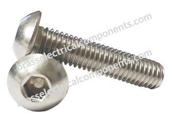 brass cap screw