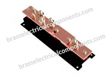 Brass 600 Amp Earth Bar